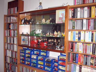 vitrine de collection