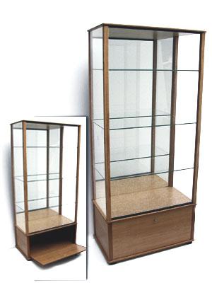 galerie de vitrines installees chez nos clients 130. Black Bedroom Furniture Sets. Home Design Ideas